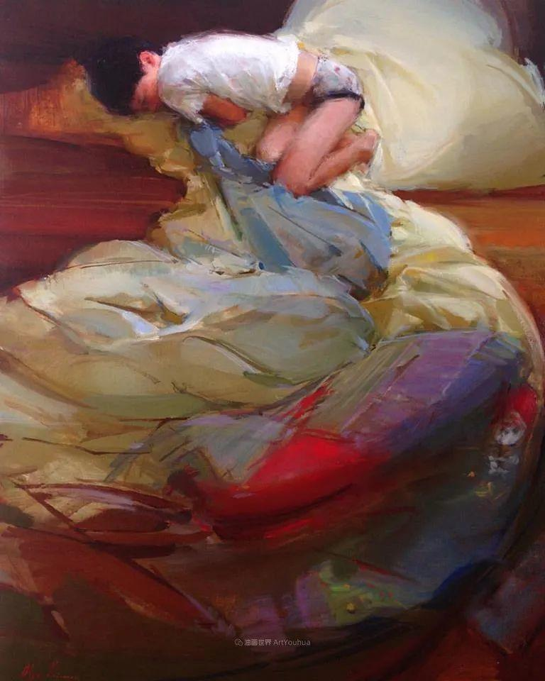 富有表现力的笔触,乌克兰女画家奥尔加·克里蒙插图81