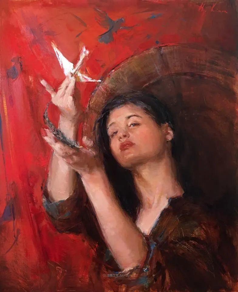 富有表现力的笔触,乌克兰女画家奥尔加·克里蒙插图83
