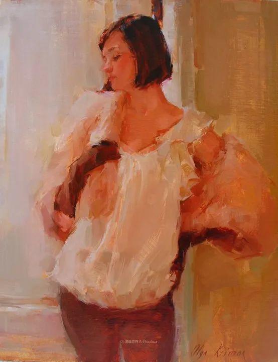 富有表现力的笔触,乌克兰女画家奥尔加·克里蒙插图85
