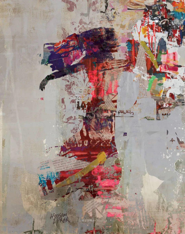 具象和抽象之间的作品,是他表达思想的最佳方式!插图1
