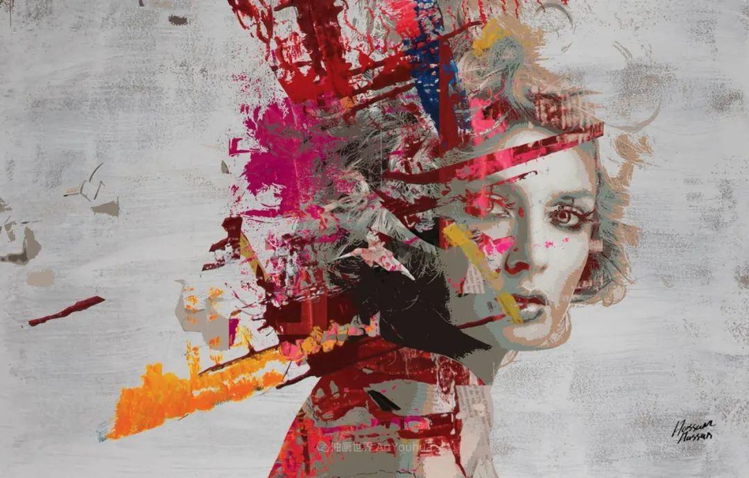 具象和抽象之间的作品,是他表达思想的最佳方式!插图3