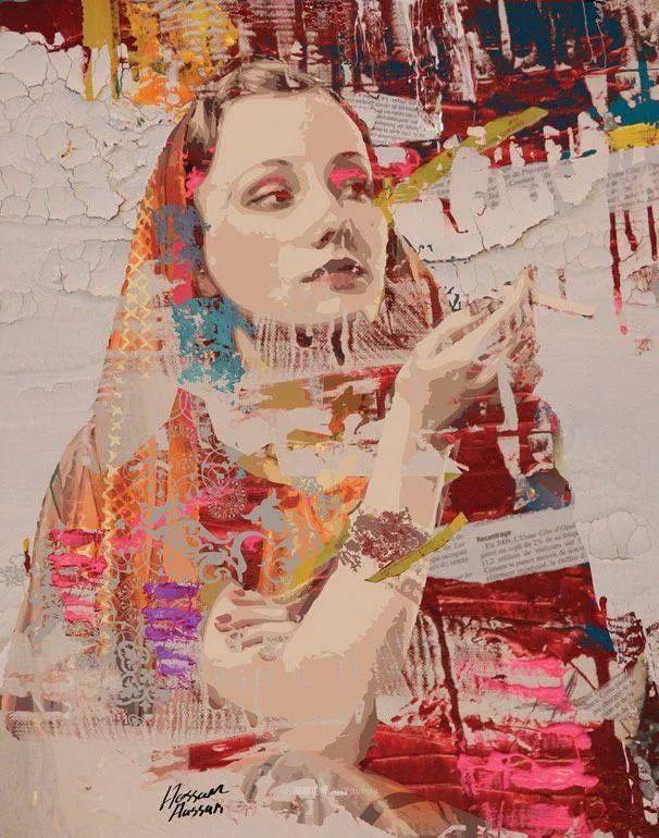 具象和抽象之间的作品,是他表达思想的最佳方式!插图11