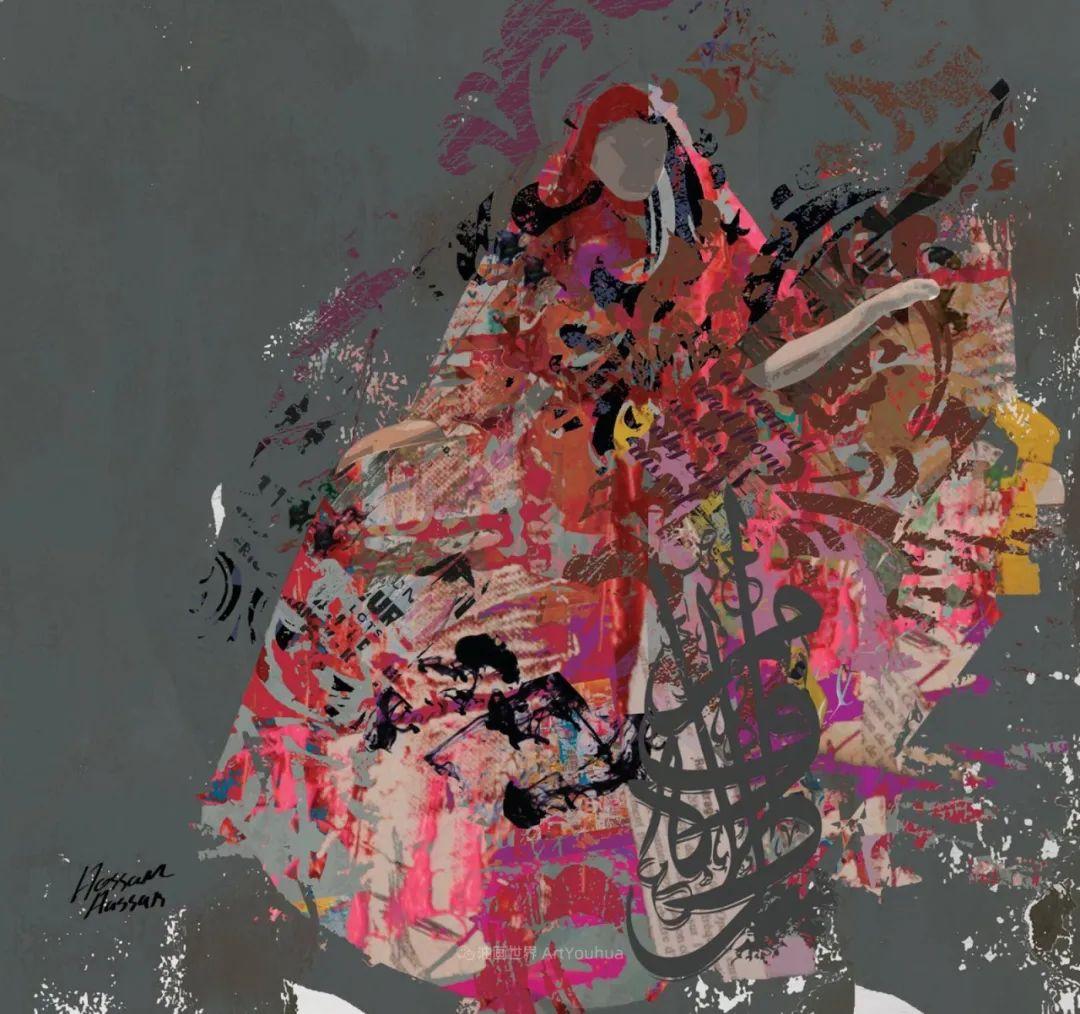 具象和抽象之间的作品,是他表达思想的最佳方式!插图23