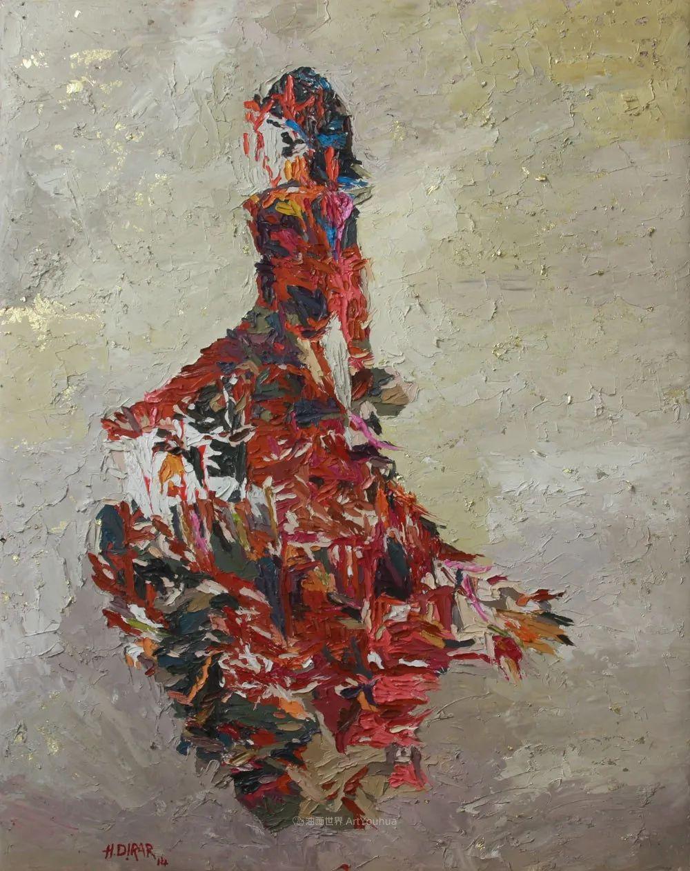 具象和抽象之间的作品,是他表达思想的最佳方式!插图25