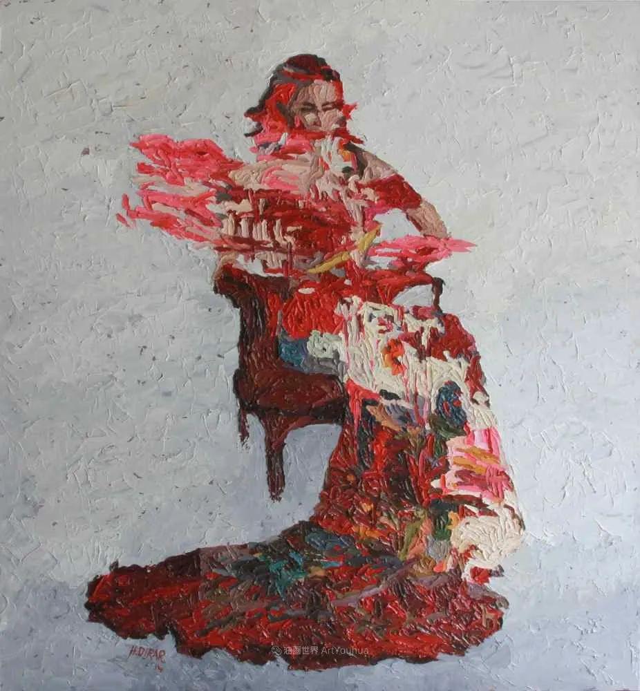 具象和抽象之间的作品,是他表达思想的最佳方式!插图37