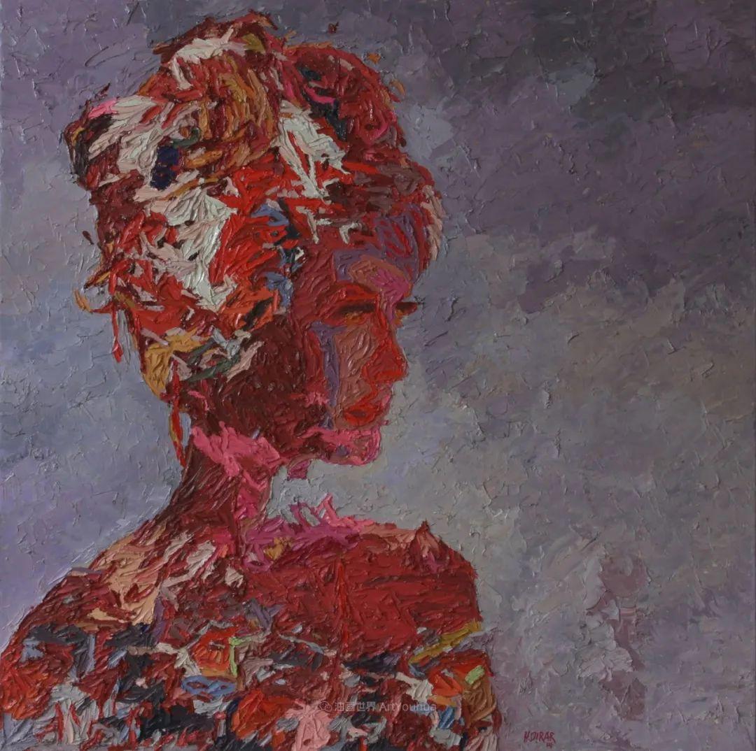 具象和抽象之间的作品,是他表达思想的最佳方式!插图43