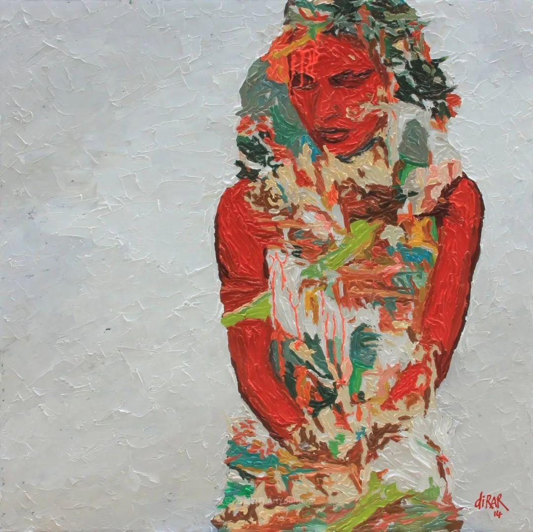 具象和抽象之间的作品,是他表达思想的最佳方式!插图45