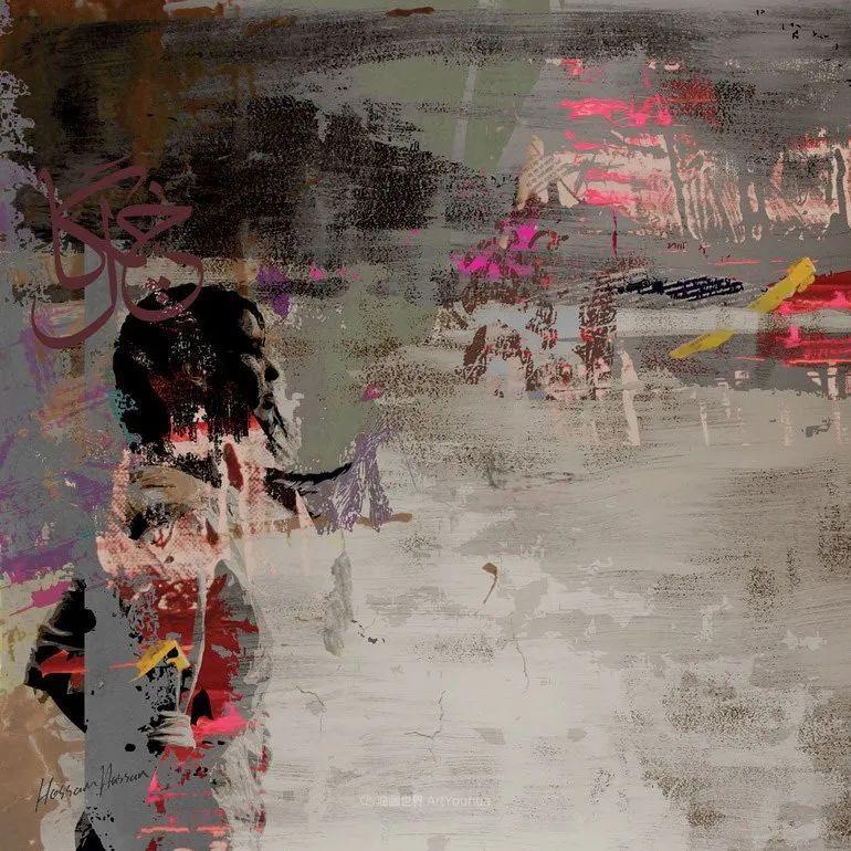 具象和抽象之间的作品,是他表达思想的最佳方式!插图71