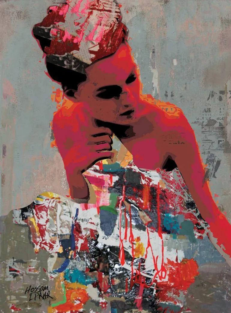 具象和抽象之间的作品,是他表达思想的最佳方式!插图75