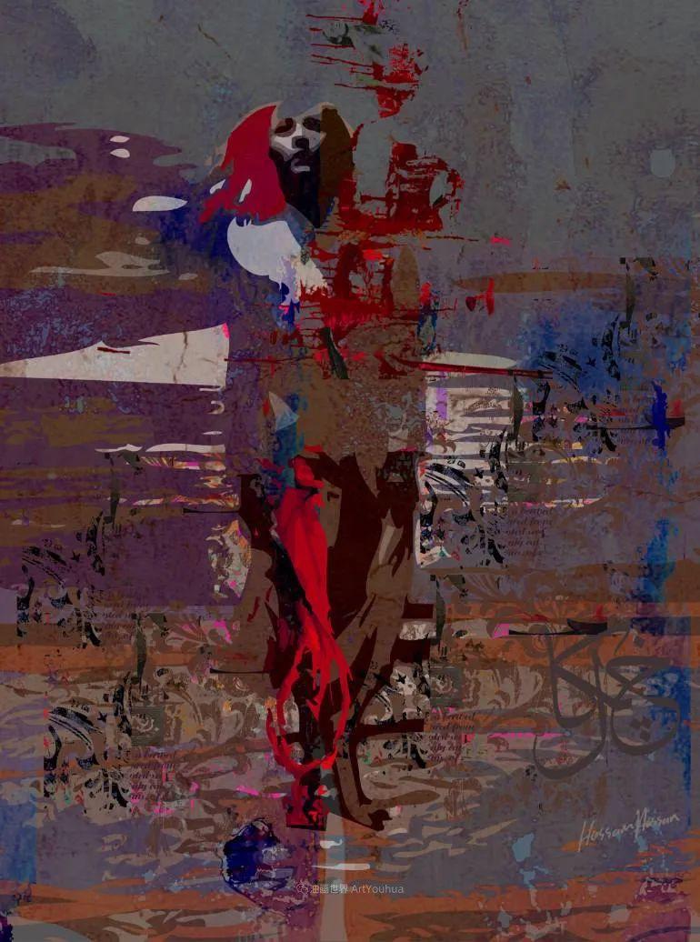 具象和抽象之间的作品,是他表达思想的最佳方式!插图77