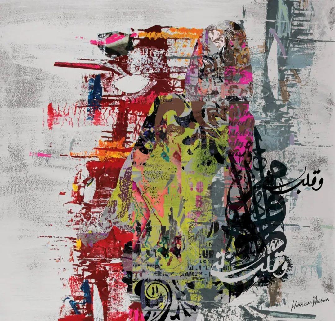 具象和抽象之间的作品,是他表达思想的最佳方式!插图81