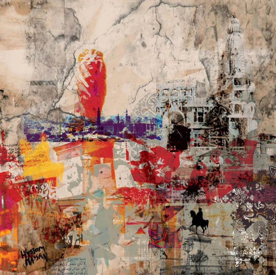 具象和抽象之间的作品,是他表达思想的最佳方式!插图83