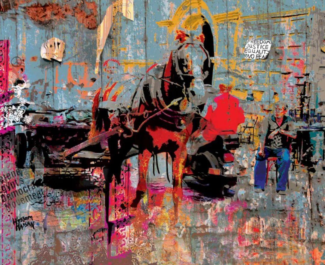 具象和抽象之间的作品,是他表达思想的最佳方式!插图85
