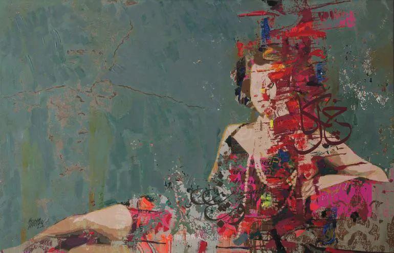 具象和抽象之间的作品,是他表达思想的最佳方式!插图87