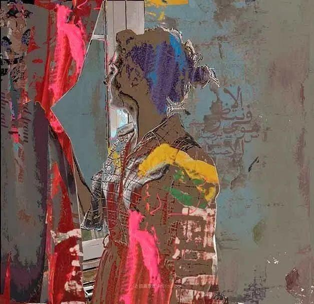 具象和抽象之间的作品,是他表达思想的最佳方式!插图89