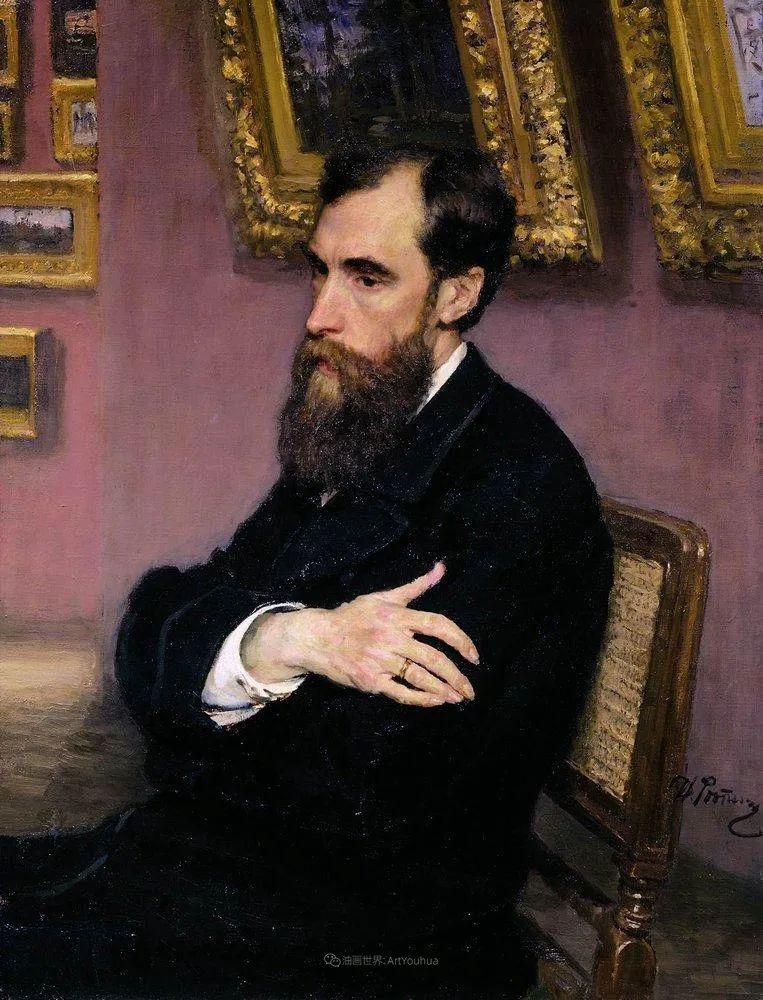 现实主义巨匠列宾, 男性肖像作品精选 170幅插图5