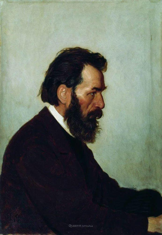 现实主义巨匠列宾, 男性肖像作品精选 170幅插图13