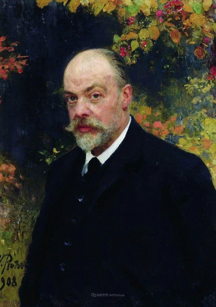现实主义巨匠列宾, 男性肖像作品精选 170幅插图17