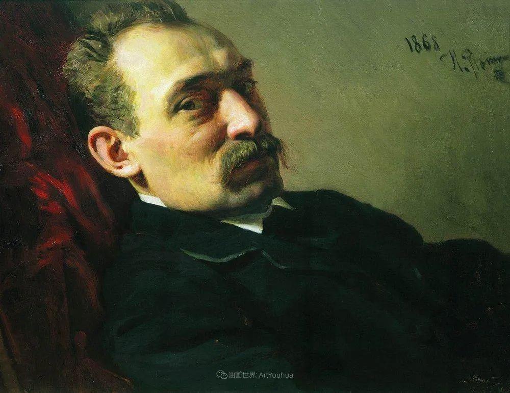 现实主义巨匠列宾, 男性肖像作品精选 170幅插图19