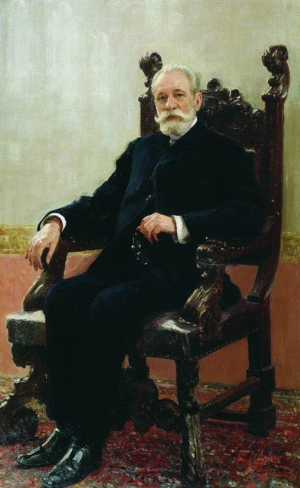 现实主义巨匠列宾, 男性肖像作品精选 170幅插图23