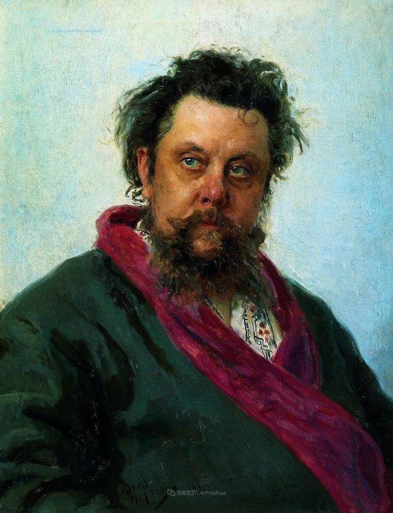 现实主义巨匠列宾, 男性肖像作品精选 170幅插图27