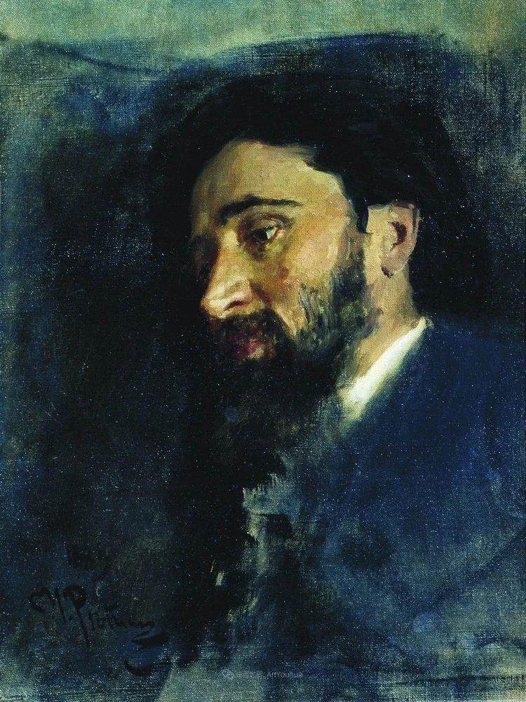 现实主义巨匠列宾, 男性肖像作品精选 170幅插图29