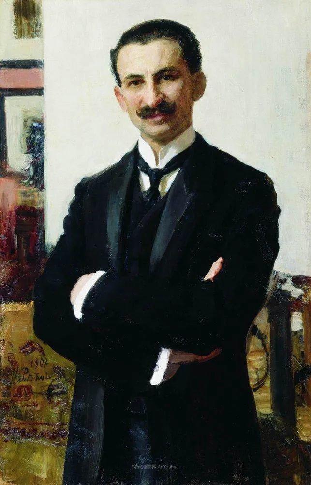 现实主义巨匠列宾, 男性肖像作品精选 170幅插图31