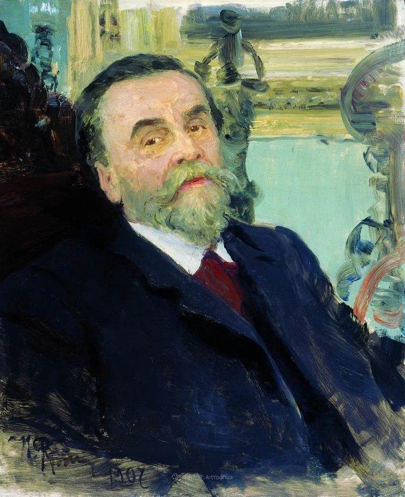 现实主义巨匠列宾, 男性肖像作品精选 170幅插图33