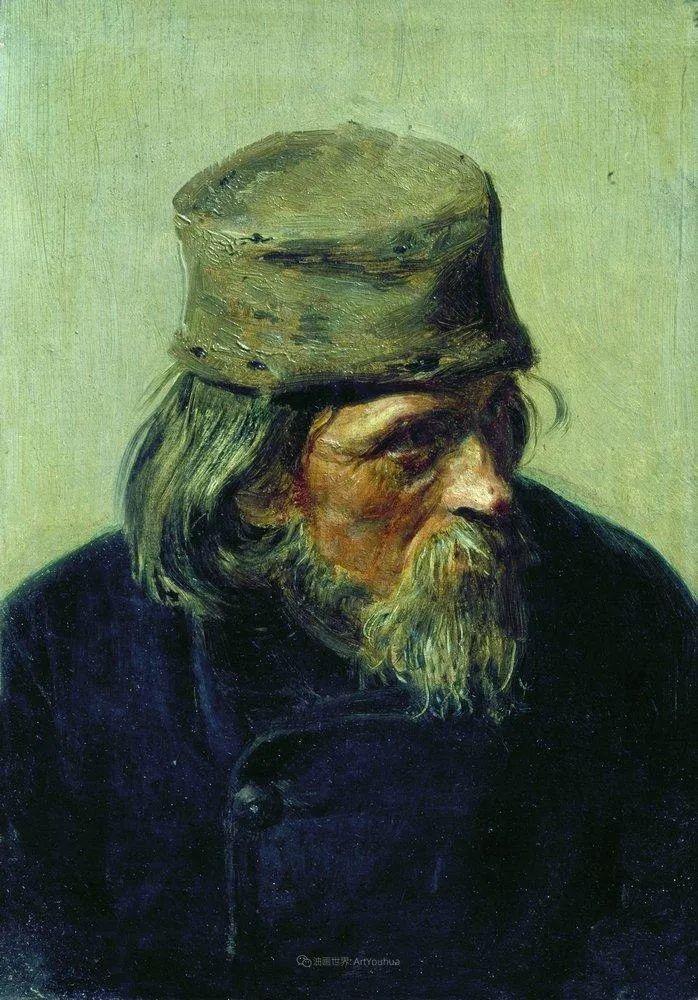 现实主义巨匠列宾, 男性肖像作品精选 170幅插图35