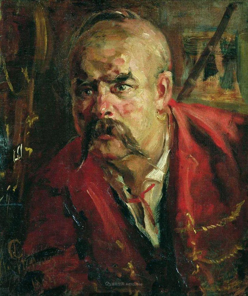 现实主义巨匠列宾, 男性肖像作品精选 170幅插图39