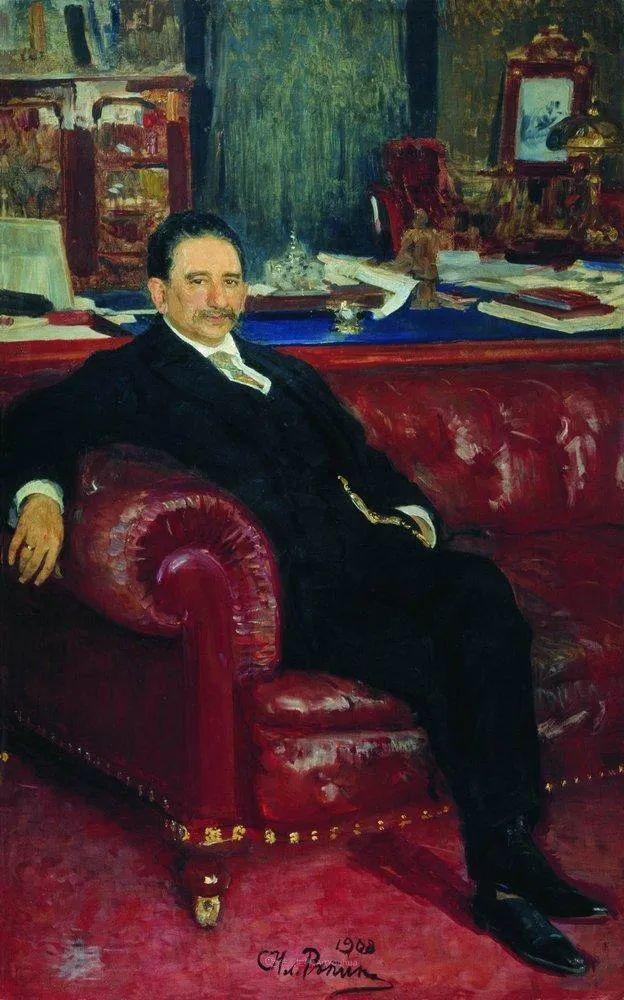 现实主义巨匠列宾, 男性肖像作品精选 170幅插图41