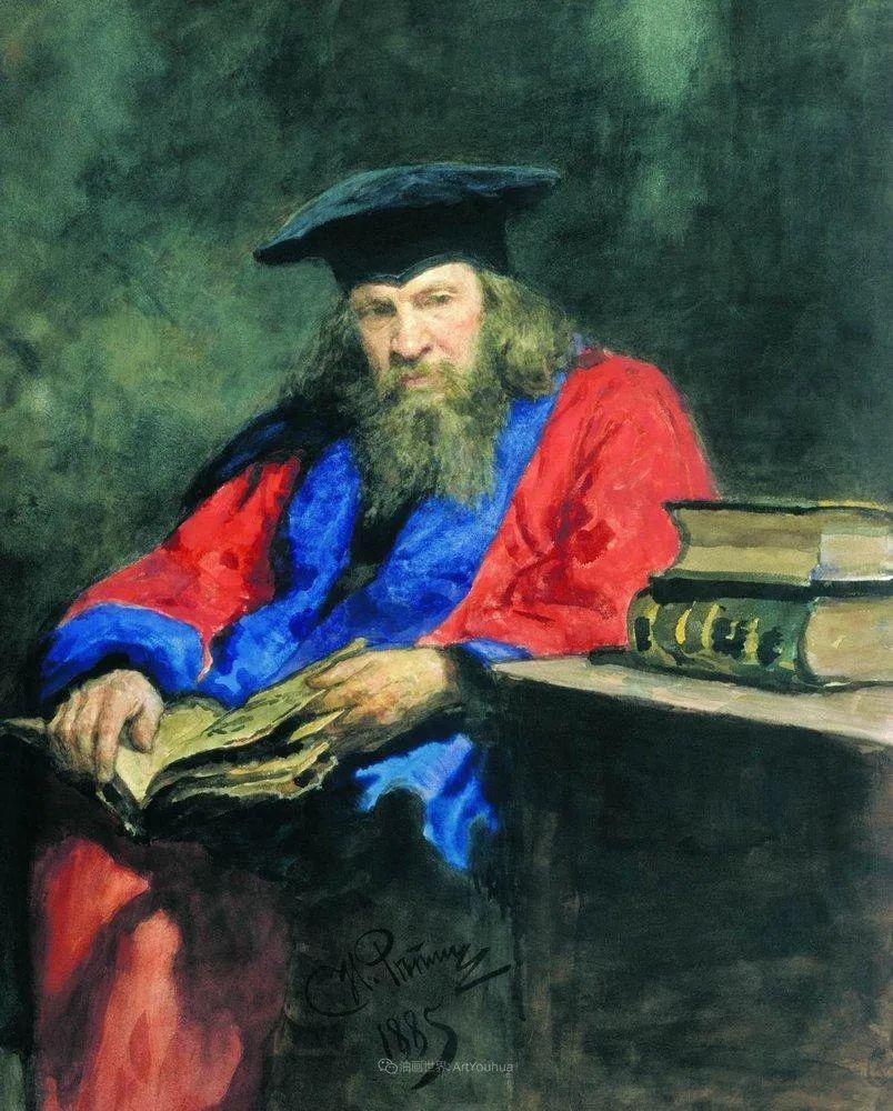 现实主义巨匠列宾, 男性肖像作品精选 170幅插图45