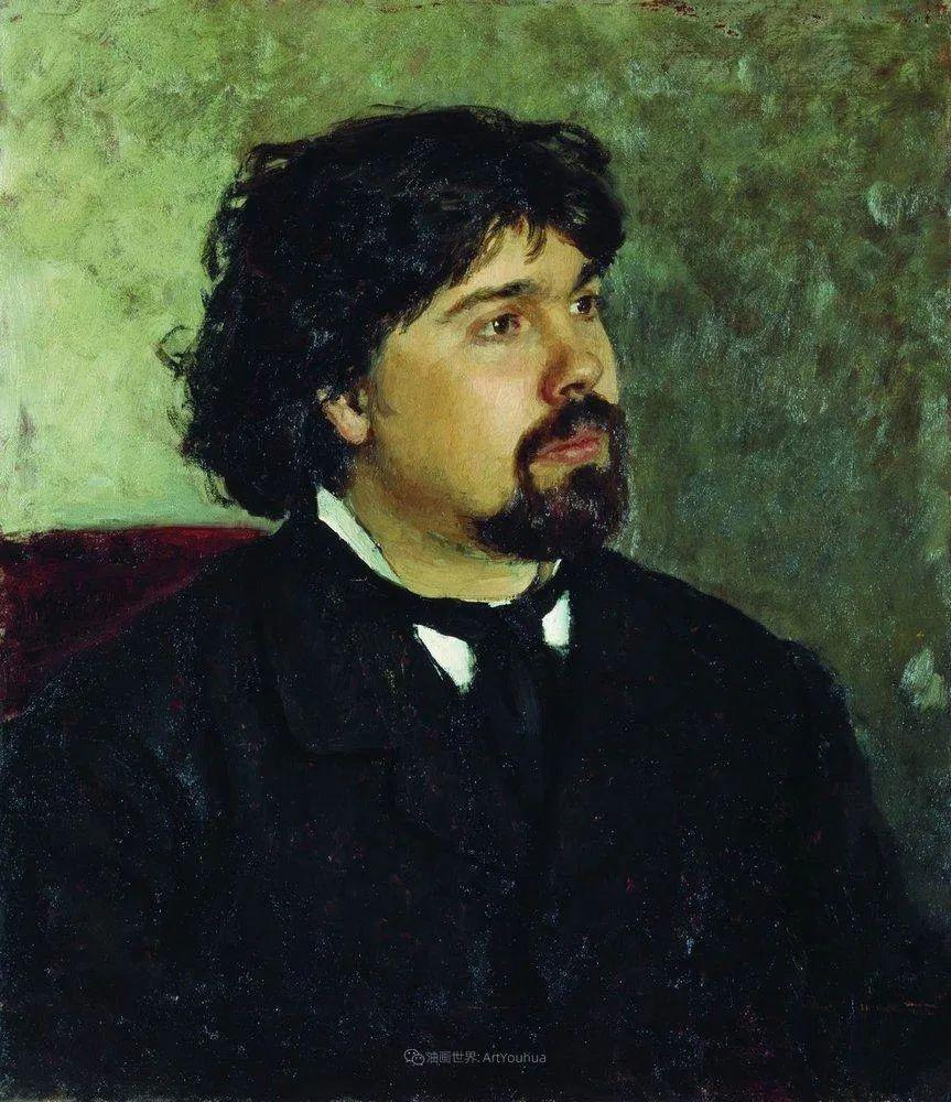 现实主义巨匠列宾, 男性肖像作品精选 170幅插图49