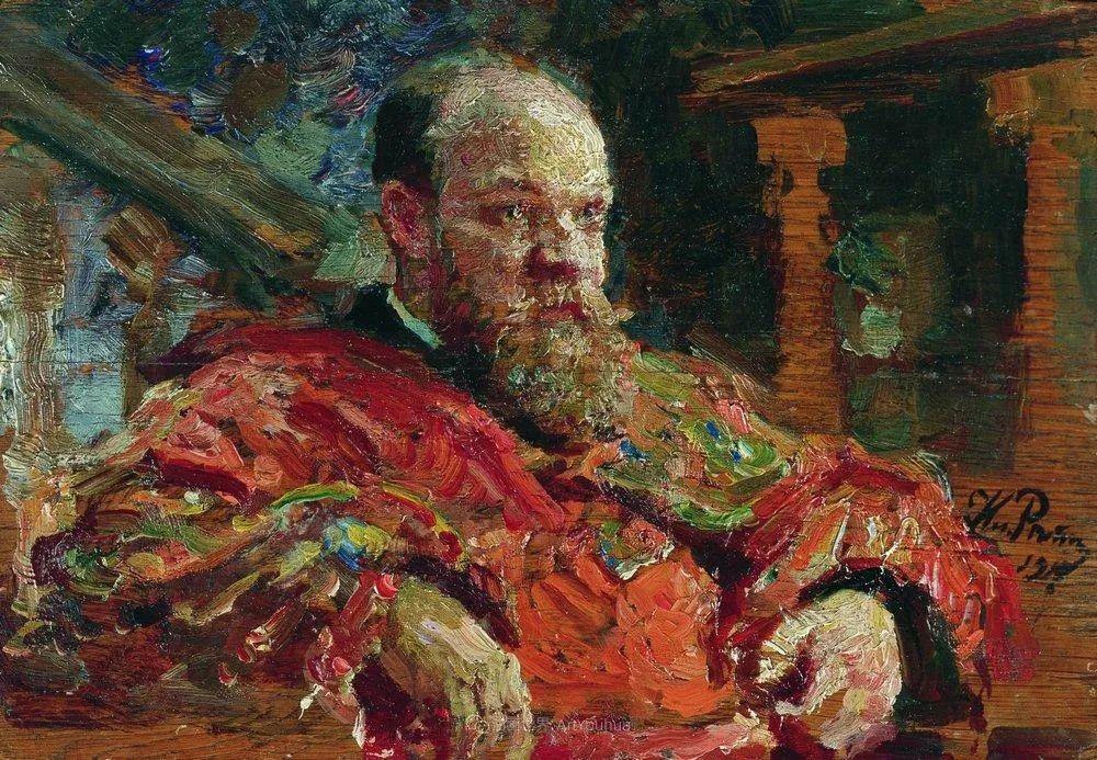 现实主义巨匠列宾, 男性肖像作品精选 170幅插图51