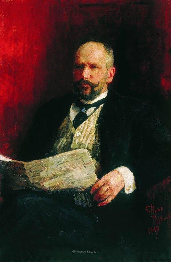 现实主义巨匠列宾, 男性肖像作品精选 170幅插图53