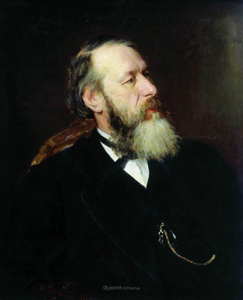 现实主义巨匠列宾, 男性肖像作品精选 170幅插图55
