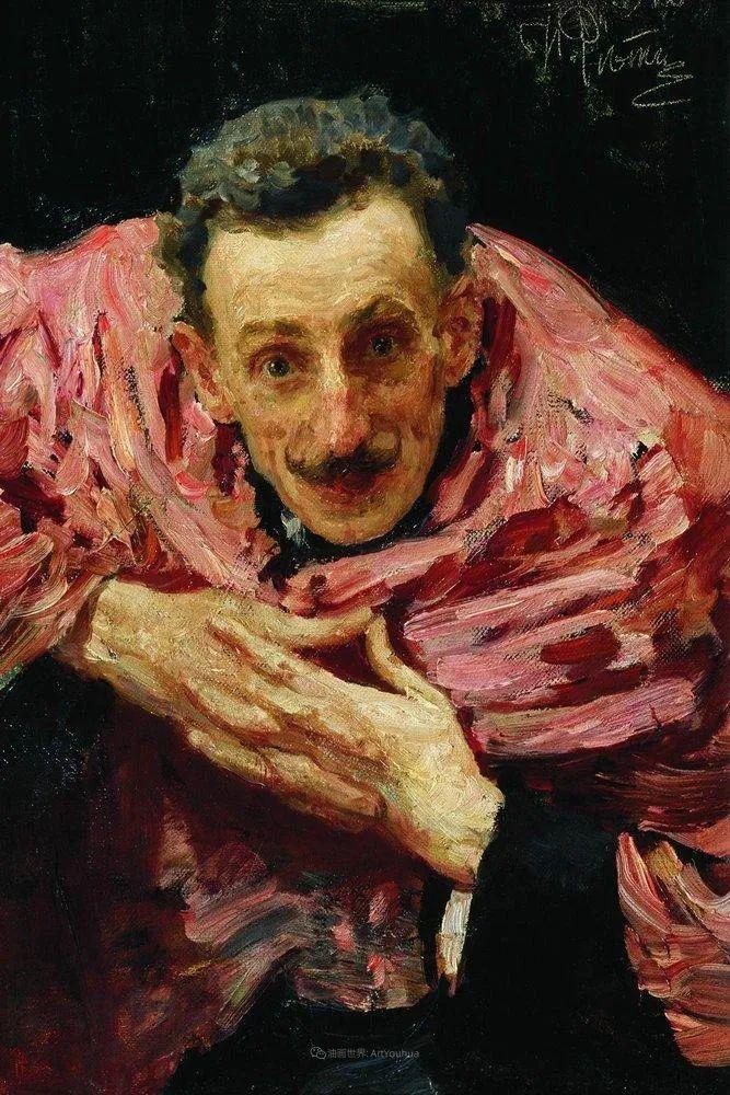 现实主义巨匠列宾, 男性肖像作品精选 170幅插图57
