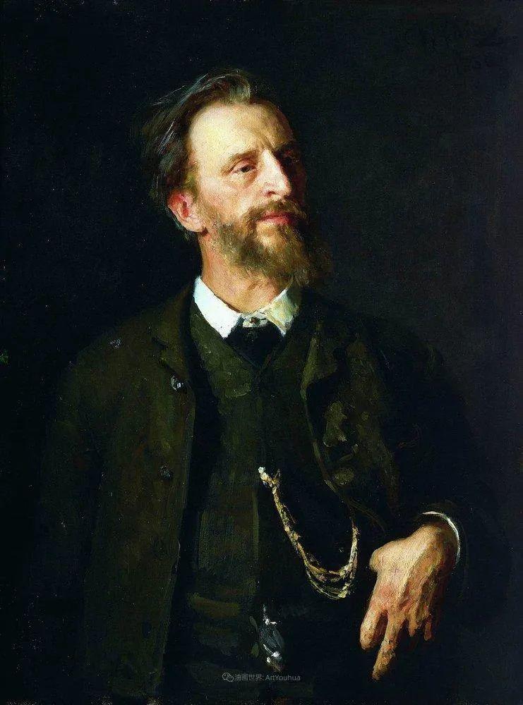 现实主义巨匠列宾, 男性肖像作品精选 170幅插图63