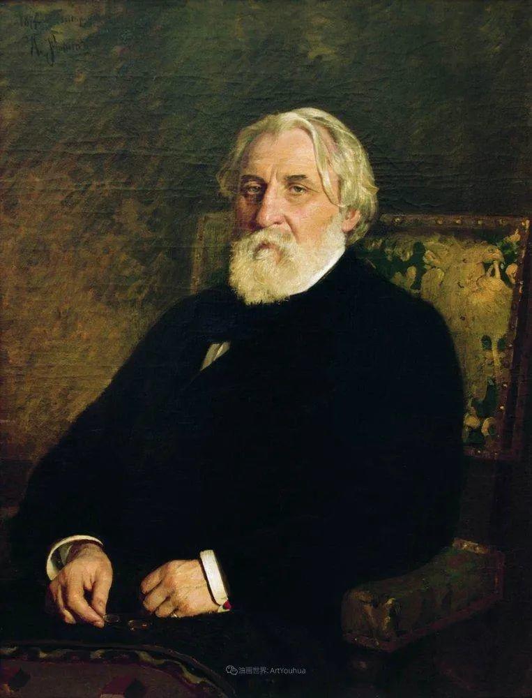 现实主义巨匠列宾, 男性肖像作品精选 170幅插图65