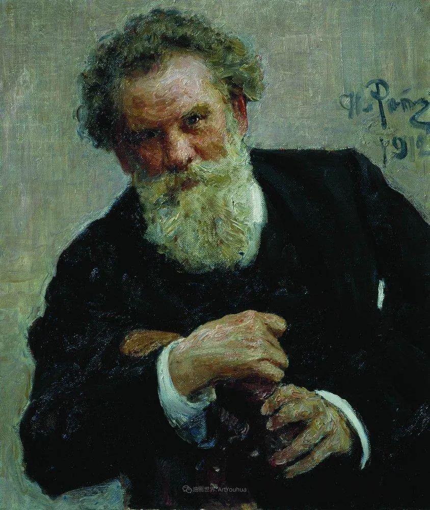 现实主义巨匠列宾, 男性肖像作品精选 170幅插图67