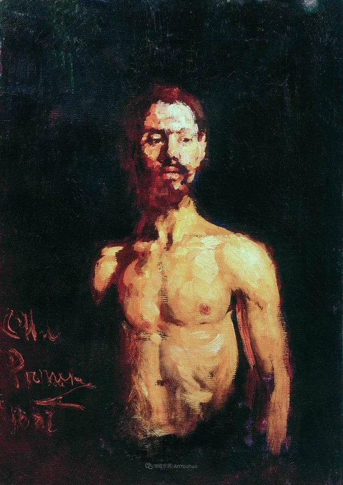 现实主义巨匠列宾, 男性肖像作品精选 170幅插图69