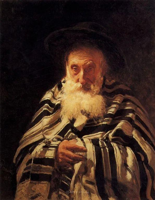 现实主义巨匠列宾, 男性肖像作品精选 170幅插图73