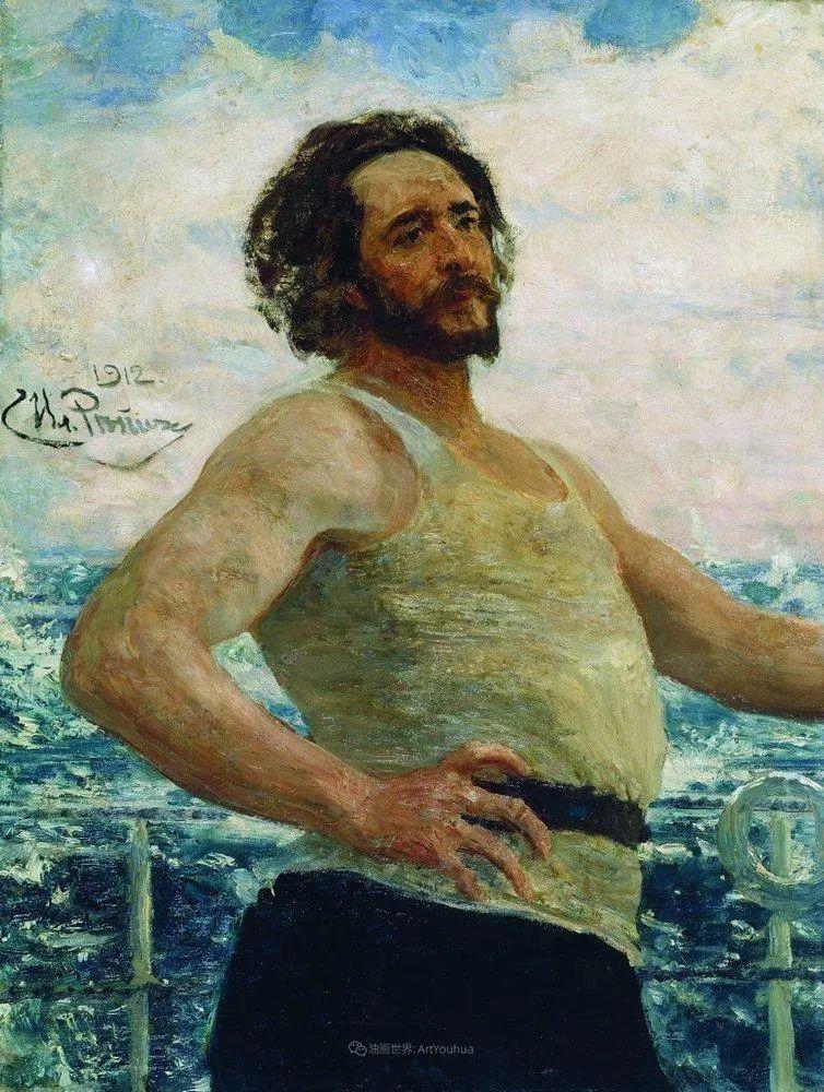 现实主义巨匠列宾, 男性肖像作品精选 170幅插图75