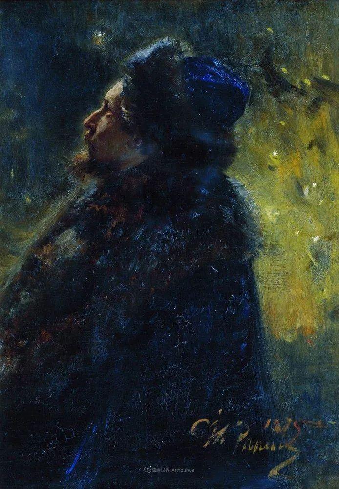 现实主义巨匠列宾, 男性肖像作品精选 170幅插图77