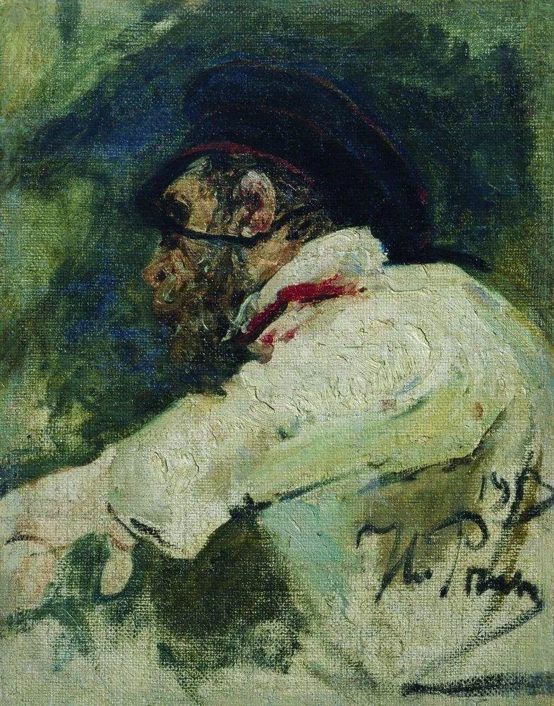 现实主义巨匠列宾, 男性肖像作品精选 170幅插图79