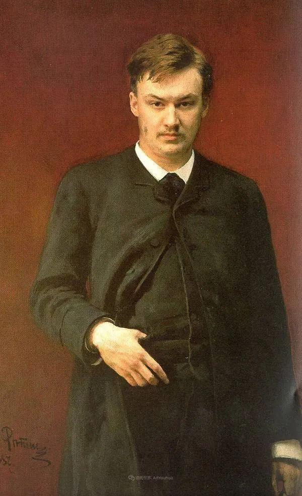 现实主义巨匠列宾, 男性肖像作品精选 170幅插图81