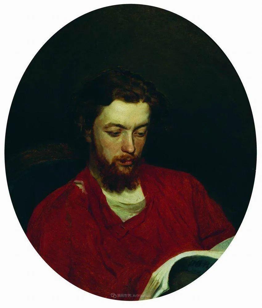 现实主义巨匠列宾, 男性肖像作品精选 170幅插图87
