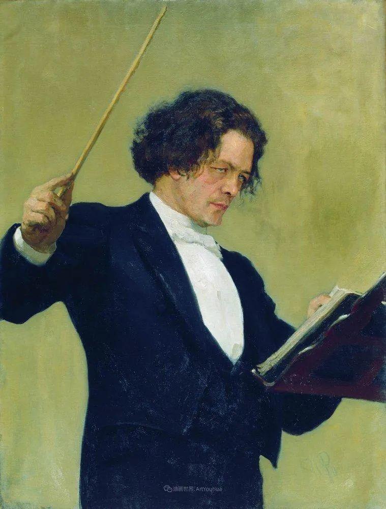 现实主义巨匠列宾, 男性肖像作品精选 170幅插图89