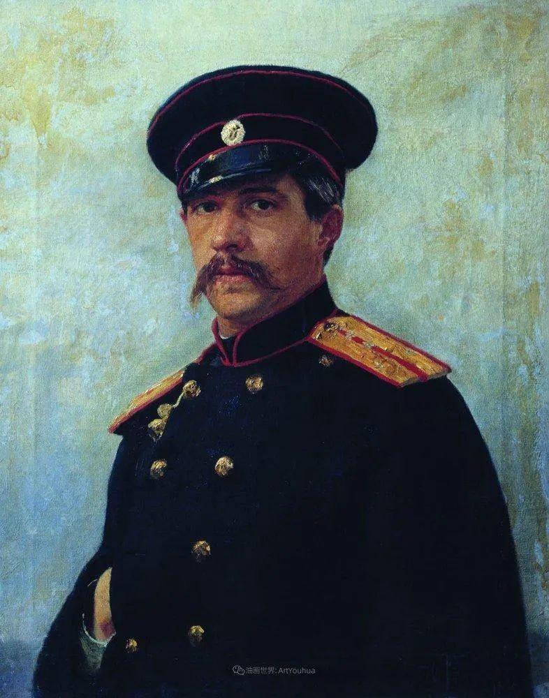 现实主义巨匠列宾, 男性肖像作品精选 170幅插图91