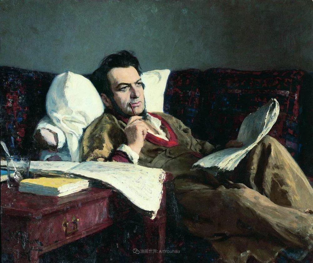 现实主义巨匠列宾, 男性肖像作品精选 170幅插图93